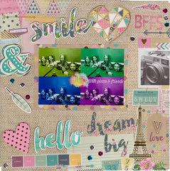 SMILE & Dream Big BFFS