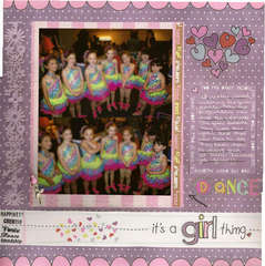 Dance - It's a girl thing