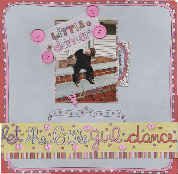 little dancer - let the little girl dance