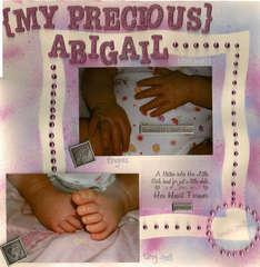 My Precious Abigail's precious parts