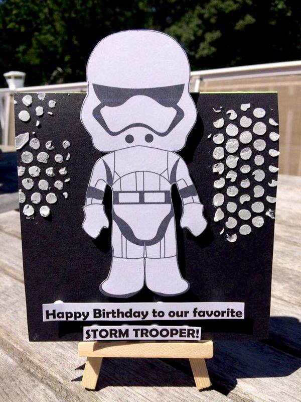 Storm Trooper Card