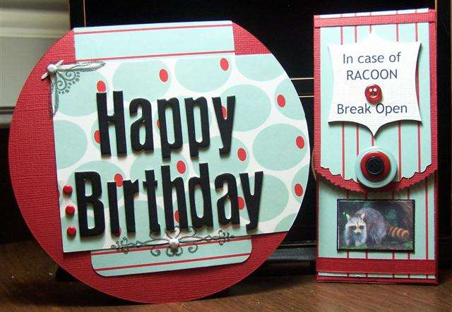 Happy Birthday card & Gift Box