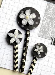 Queen & Co Twinkle Blooms, Stylish Stix and Pearl Blossoms