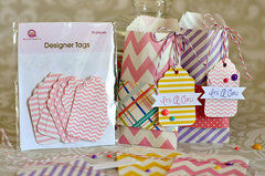 Matching Mini Bags & Tags from Queen & Co