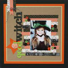Good Witch featuring Queen & Co's Halloween Trendy Tape