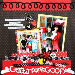 Disney Getting Goofy by Vicki Boutin