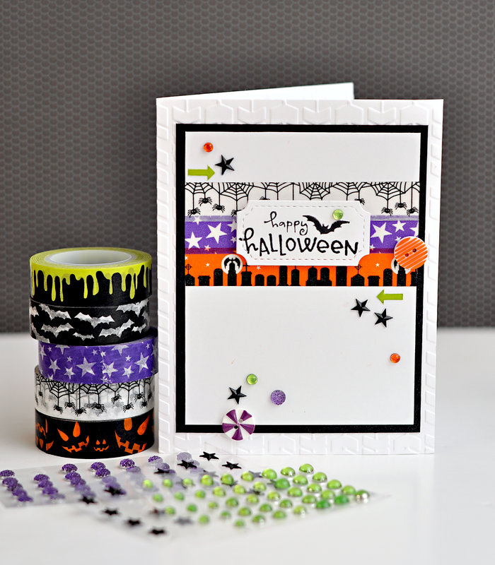 New Halloween Themed Bling Book and Trendy Tape Boxed Set from Queen and Company
