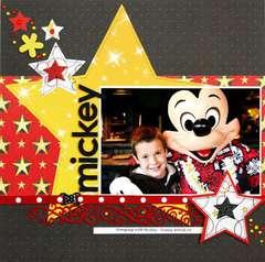 Disney mickey by Greta Hammond