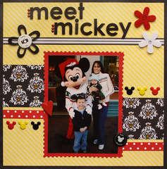 Disney Meet Mickey by Leah LaMontagne