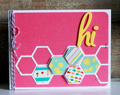 Hi card by Becky Williams