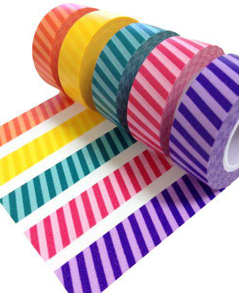 Check out the New Queen & Co Tone Stripes Trendy Tape