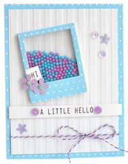 A Little Hello featuring Queen and Company's Say Cheese Shaker Shape Kit