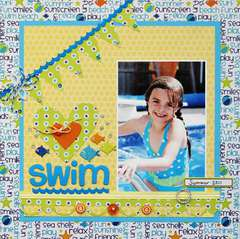 Swim by Greta Hammond featuring the Summer Collection from Queen & Co