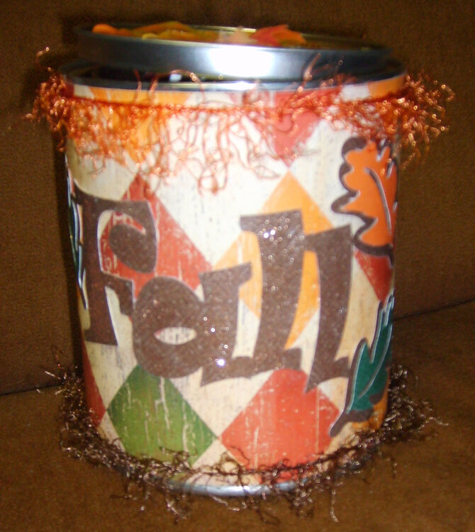 Fall can for swap