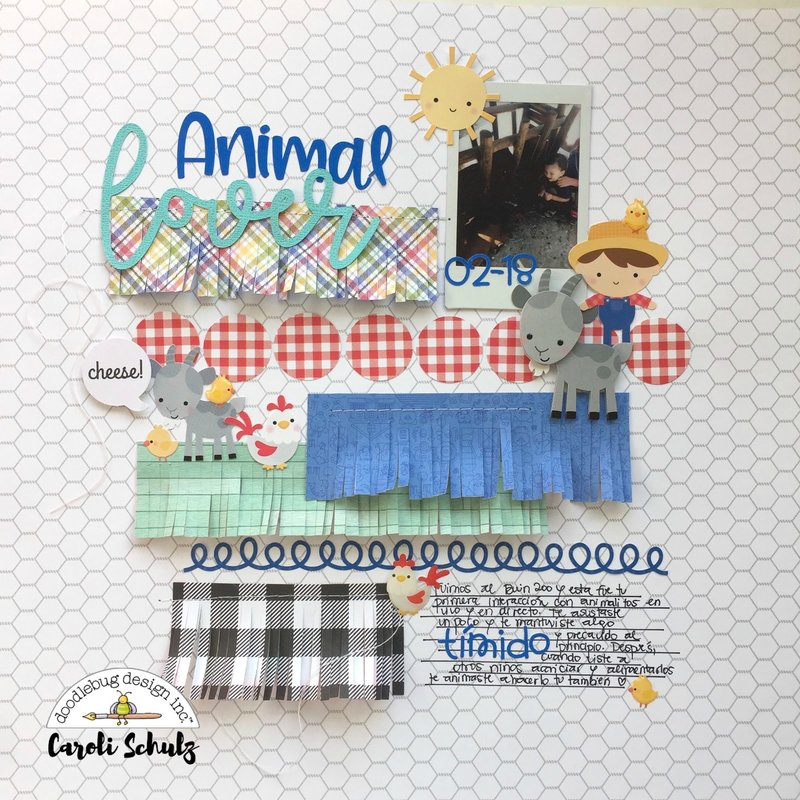 Animal Lover - Doodlebug Design