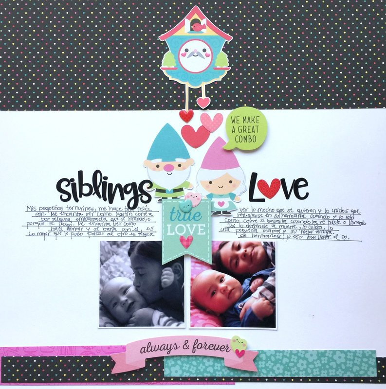 Siblings Love - Doodlebug Design