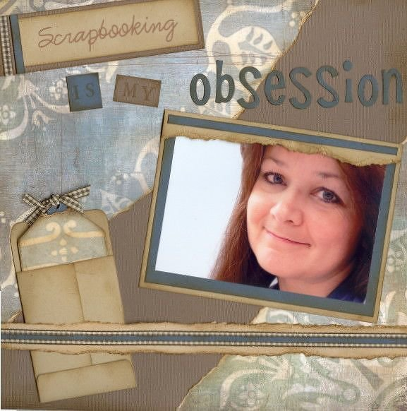 What Scrapbooking Means to Me HOF Assignment F
