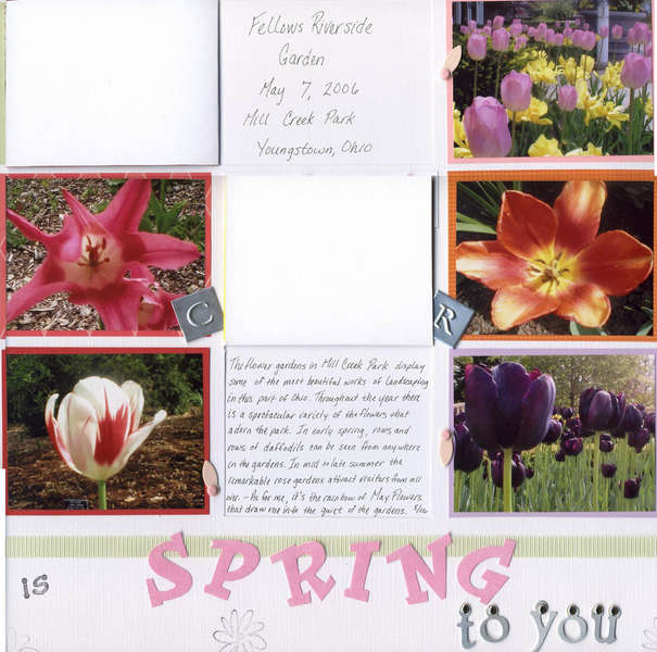 What is Spring to You - journaling blocks