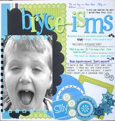 Bryce-isms *READY, SET, CREATE*