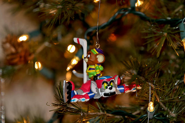 mini #6 ornament
