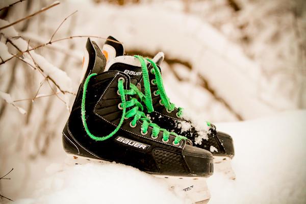 U's skates.