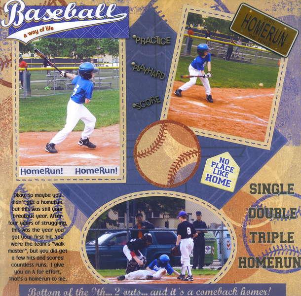 Baseball (Homerun)