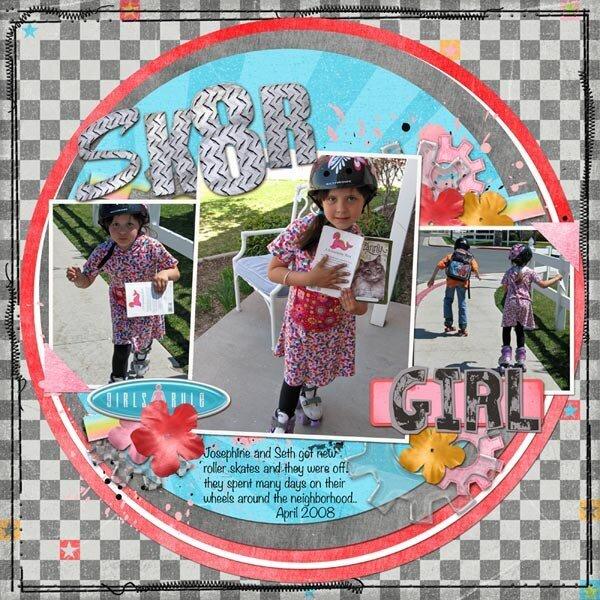 SK8TR girl