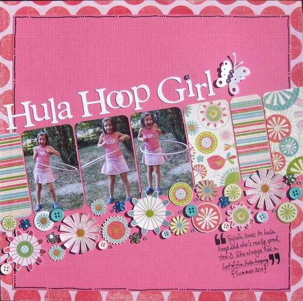 PINK CHALLENGE - Hula Hoop Girl
