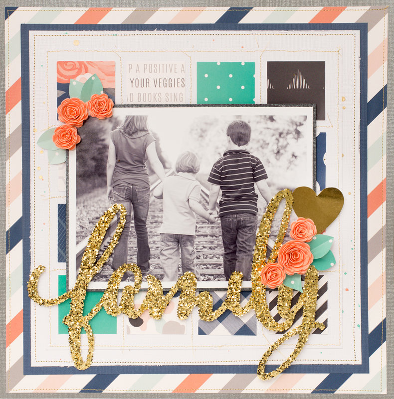 Beautiful Inspiration featuring Jen Hadfield's DIY Home Collection for Pebbles Inc