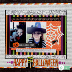 Happy Halloween by Becki Adams for Pebbles Inc