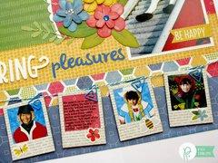 Spring Pleasures by DT member Mendi Yoshikawa