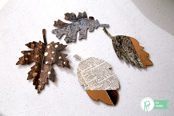 Foiled Leaves Garland