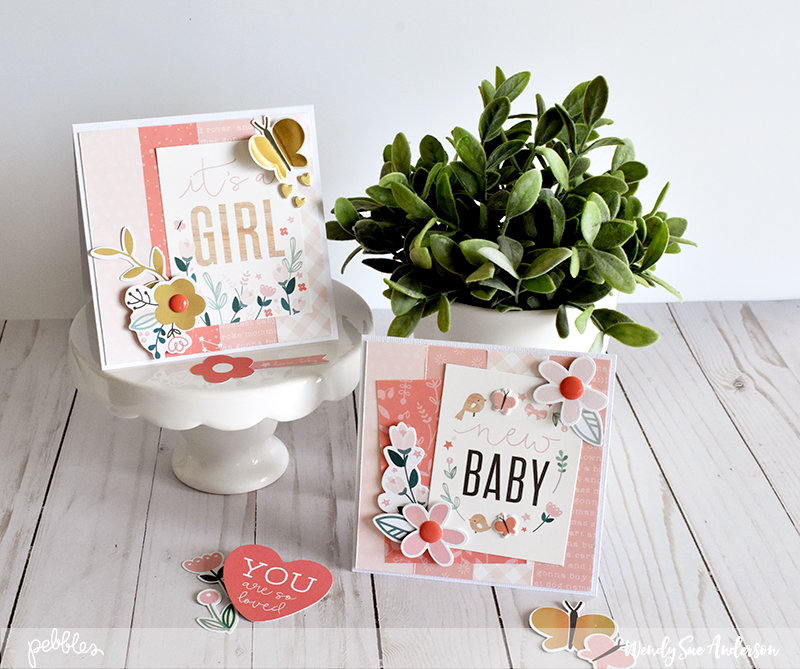 Quick and Easy Baby Girl Cards