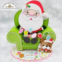 Doodlebug Design Santa