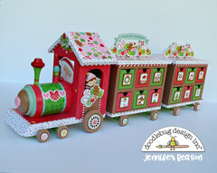 Doodlebug Advent Train