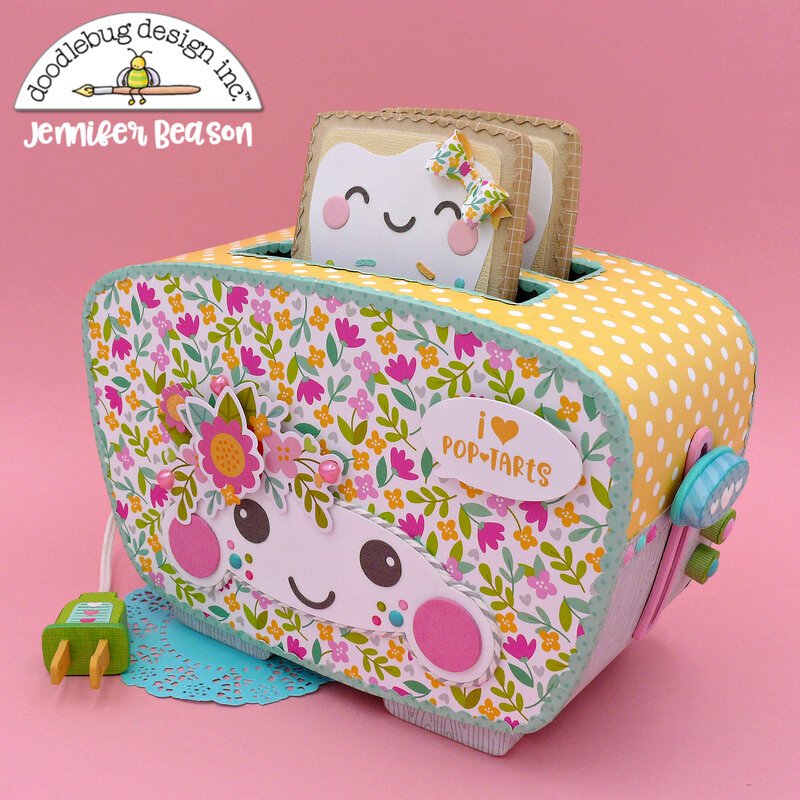 Doodlebug Toaster and Pop Tarts