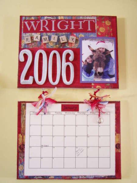 9 x 12 Canvas Wall Calendar