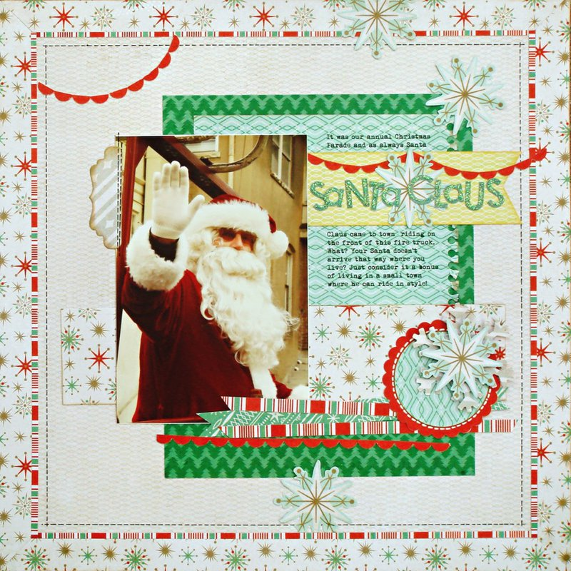 Santa Claus by Kelly Goree