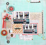 Hey There by Lexi Bridges featuring the Paper Cottage Collection from BasicGrey