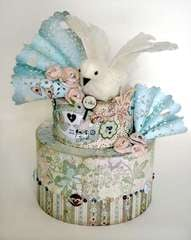 Cappella Cake Topper created by Linda Albrecht featuring NEW Cappella