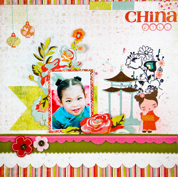 China Doll by Lady Grace Belarmino featuring Konnichiwa from BasicGrey