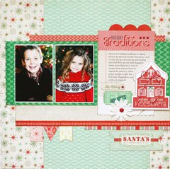 Christmas Traditions by Greta Hammond featuring 25th and Pine from BasicGrey