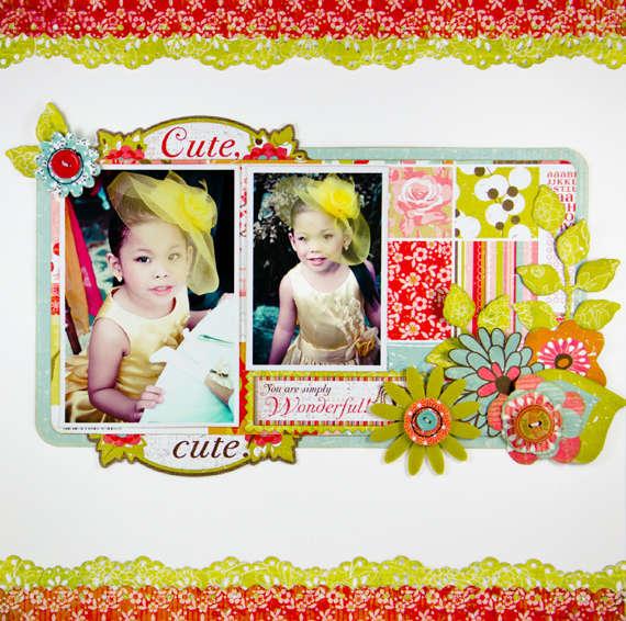 Cute by Lady Grace Belarmino featuring Konnichiwa from BasicGrey