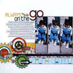 On the GO by Allison Davis featuring WANDER