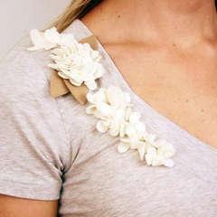 BasicGrey Notions - Wool Felt Burst Blossoms