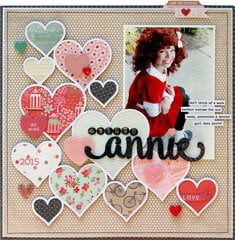 Orphan Annie by Lisa Dickinson featuring Dear Heart from BasicGrey