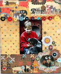 Pet Frame by Linda Albrecht featuring NEW Max & Whiskers