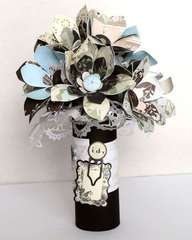 Bouquet designed by Vicki Boutin using NEW Cappella!
