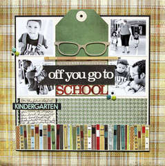Off You Go to School by Heidi Sonboul featuring Oxford