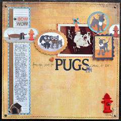 """""""My Love for Pugs"""" by Layle Koncar featuring NEW Max & Whiskers!"""
